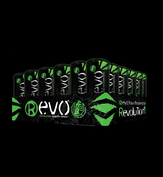 Revolution Energy Drink (pack 24)